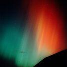 Intense red & green aurora by Duncan Waldron