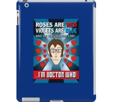 DR WHO VALENTINES 7 iPad Case/Skin
