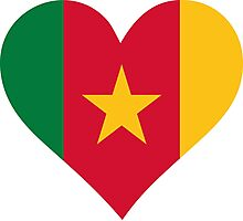 A heart for Cameroon Photographic Print