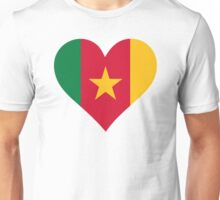 A heart for Cameroon Unisex T-Shirt