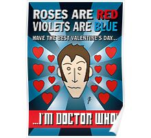 DR WHO VALENTINES 8 Poster