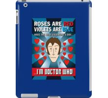 DR WHO VALENTINES 8 iPad Case/Skin