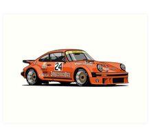 Porsche 934 RSR Jagermeister Art Print