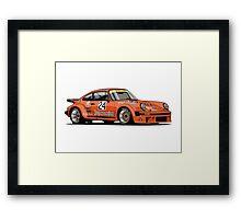 Porsche 934 RSR Jagermeister Framed Print