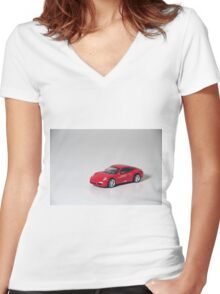 The Car Women's Fitted V-Neck T-Shirt
