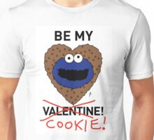 COOKIE MONSTER VALENTINE'S CARD 2 Unisex T-Shirt