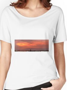 Flaming Sky Women's Relaxed Fit T-Shirt