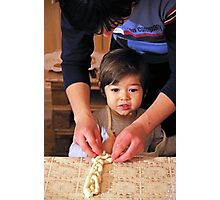 Baking Together Photographic Print