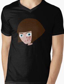 Fran Bow - Blood Mens V-Neck T-Shirt