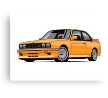 BMW M3 E30 Evo Canvas Print