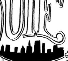 Quiet Uptown Sticker