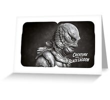 Creature of the Black Lagoon Greeting Card