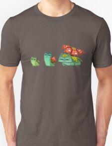 Pokemon Bulvasaur Evolution  T-Shirt