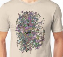 Bearded Face Unisex T-Shirt