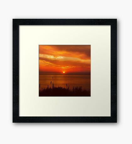 Sunset, Nature Framed Print