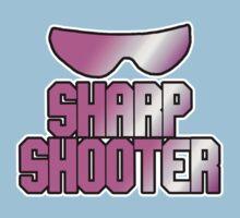 BRET HART - SHARPSHOOTER Kids Tee
