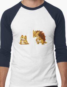 Pokemon Sandshrew Evolution Men's Baseball ¾ T-Shirt