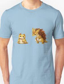 Pokemon Sandshrew Evolution T-Shirt