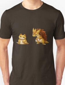 Pokemon Sandshrew Evolution T-Shirt