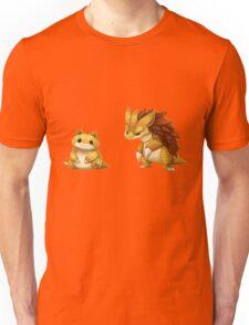 Pokemon Sandshrew Evolution Unisex T-Shirt