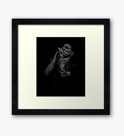 Joy Division Ian Curtis Framed Print