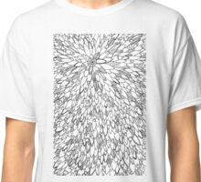Fish Surfboard Feathers Abstract Adult Colouring Pattern Classic T-Shirt