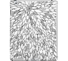 Fish Surfboard Feathers Abstract Adult Colouring Pattern iPad Case/Skin