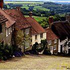 Gold Hill - Dorset by naturelover