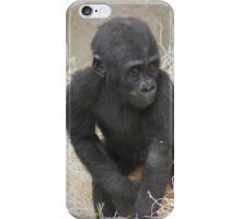 Baby Gorilla iPhone Case/Skin