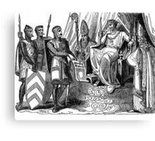 Magna Carta King john Canvas Print