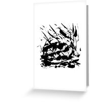 Byn abstract serie n°28 Greeting Card