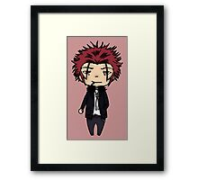 Mikoto Suoh - K project  Framed Print