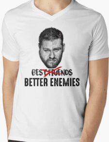 "Kevin Owens & Sami Zayn "" Better enemies "" Mens V-Neck T-Shirt"