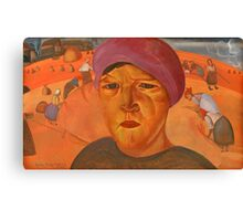 GRIGORIEV, BORIS (-)  Russian Peasant Woman Canvas Print