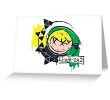 Link  Greeting Card