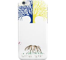 OREGON GROWN WITH CALIFORNIA ROOTS iPhone Case/Skin