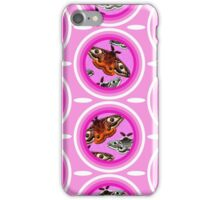 Saturnia Pavonia Circles iPhone Case/Skin