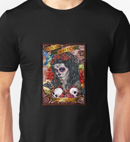 Day of the Dead print Unisex T-Shirt