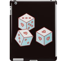 dices of love iPad Case/Skin