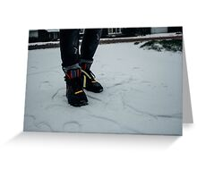 Nike Air Force 1 x Tisci Greeting Card