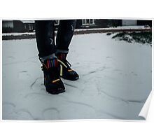 Nike Air Force 1 x Tisci Poster