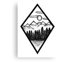 Nature Diamond Canvas Print