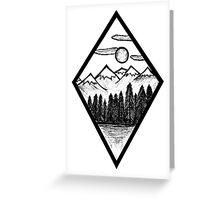 Nature Diamond Greeting Card