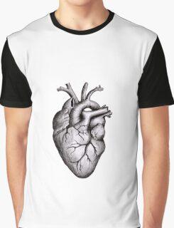 Heart Anatomy Graphic T-Shirt