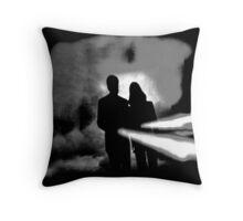 ♥♥♥ X FILES FLASHLIGHT X ♥♥♥ Throw Pillow
