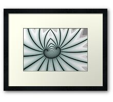 Restrained Bow Spiral Framed Print