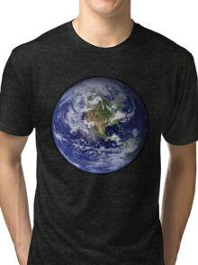Blue Marble Tri-blend T-Shirt