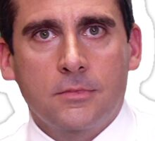 Michael Scott - World's Best Boss Sticker