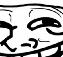 Christmas Troll Face Sticker