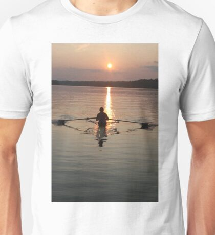 single sculler Unisex T-Shirt